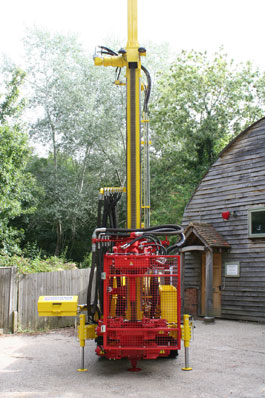 Residential Deep Bore Soakway Rig